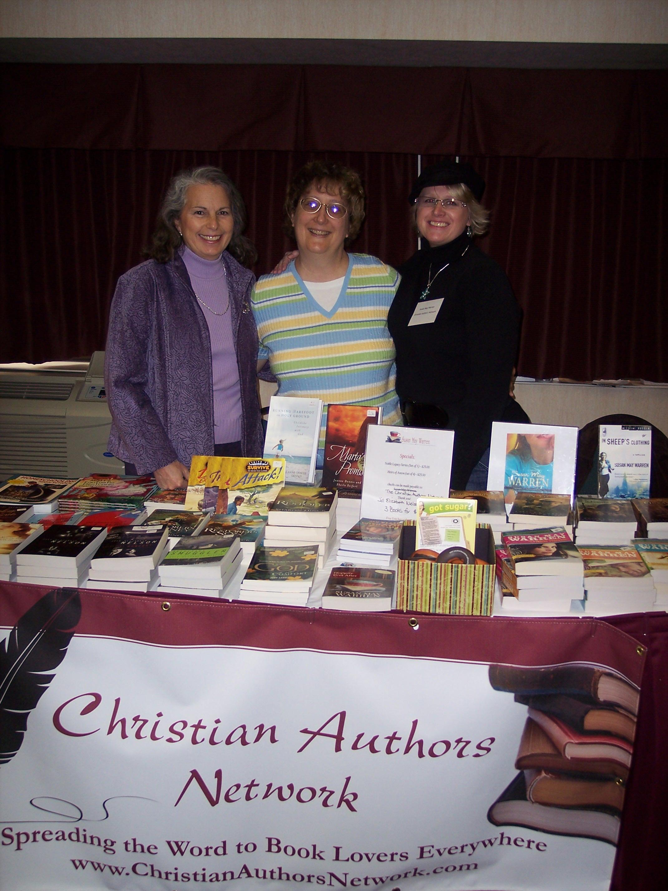Jeanne Dennis, Jill Nelson, Susie May Warren