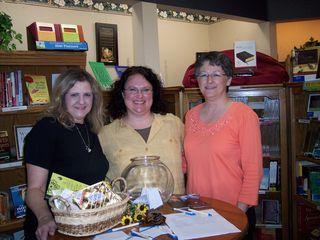Connie, myself & Karen - The Rock Good Book Store, Hays, KS