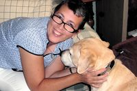 Susy w guide dog