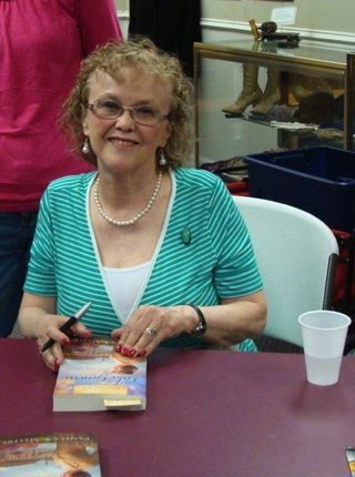 Pam Signing at Museum 4-27