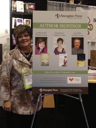 Cynthia Signing Sign ICRS 2013