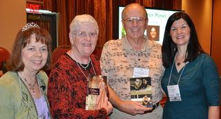 Karen and Ron Gross win books