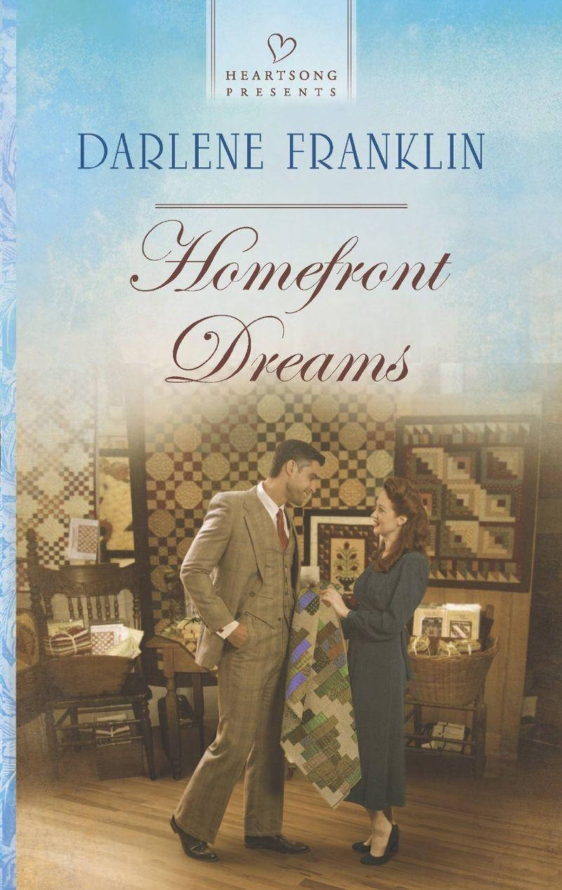 Darlene Franklin cover Homefront Dreams