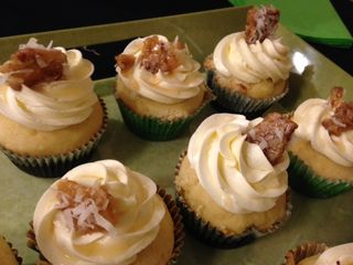 Salted Caramel with pecan brittle